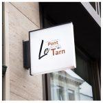 Pour sa nouvelle charte graphique, le restaurant Le Pont du Tarn a choisi l'équipe des Studios H2G !