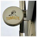 Les Studios H2G ont réalisé le nouveau logo de la marque Tumulte, spécialiste fabriquant et réparateur de motos, dans le Tarn, à Gaillac.