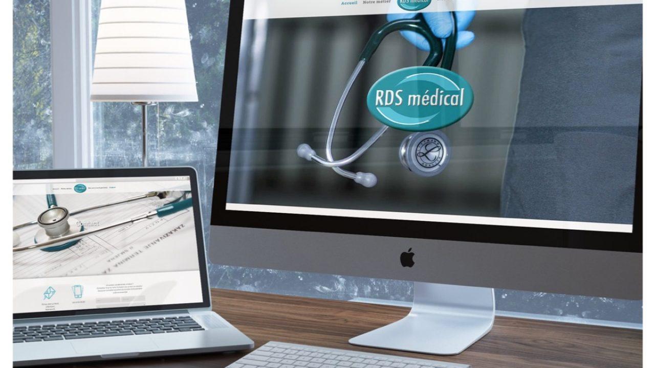 Nouveau site internet pour notre client RDS Médical, spécialisé dans la collecte et la gestion des déchets DASRI
